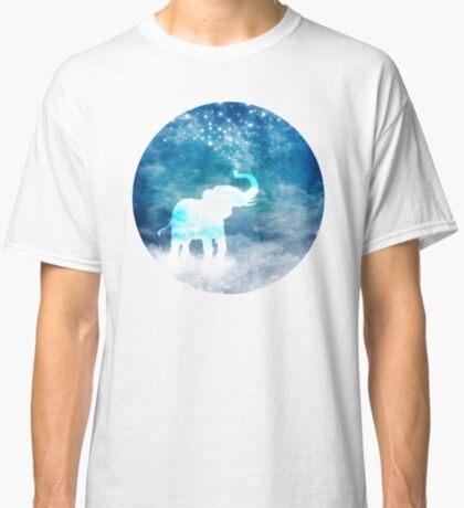Magical Elephant Spouting Stars Classic T-Shirt