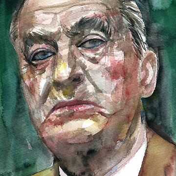 NABOKOV VLADIMIR - watercolor portrait.3 by lautir