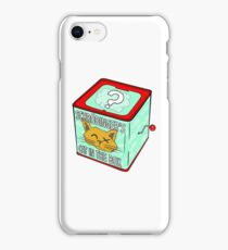 Schrödinger's Cat in the Box iPhone Case/Skin