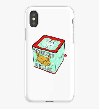 Schrödinger's Cat in the Box iPhone Case