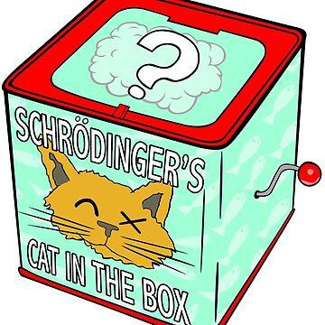 Schrödinger's Cat in the Box by Turlguy