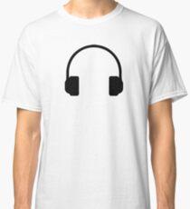 Minimalist Headphones Classic T-Shirt