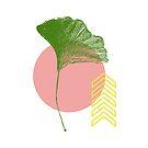 Ginkgo Leaf - #1 by LadyBaigStudio