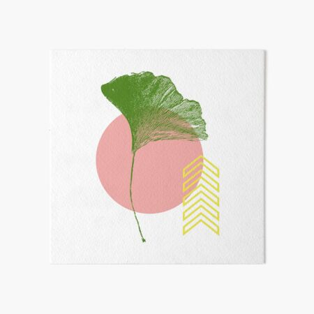 Ginkgo Leaf - #1 Art Board Print