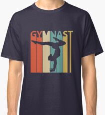 Vintage Retro Gymnast Classic T-Shirt