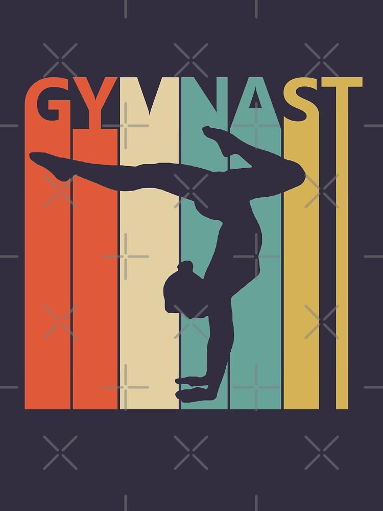 Vintage Retro Gymnast by polveri