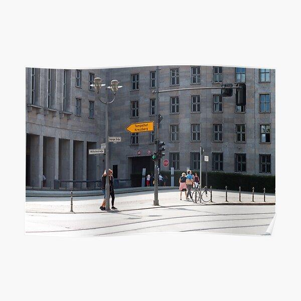Berlin street Póster