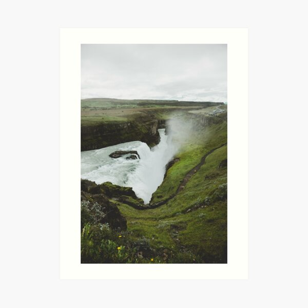 Fluid - Iceland Collection Art Print