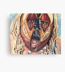 Mask Maketh Man Canvas Print