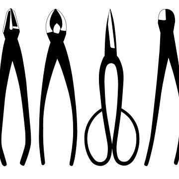 Bonsai tools by Fiwist