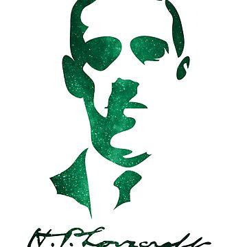 H.P. Lovecraft by VanHand