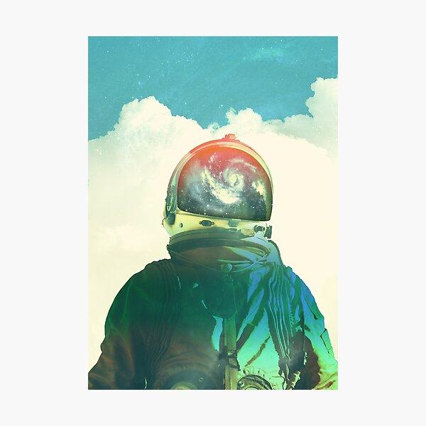 God is an astronaut Photographic Print
