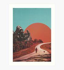 The Walk Art Print