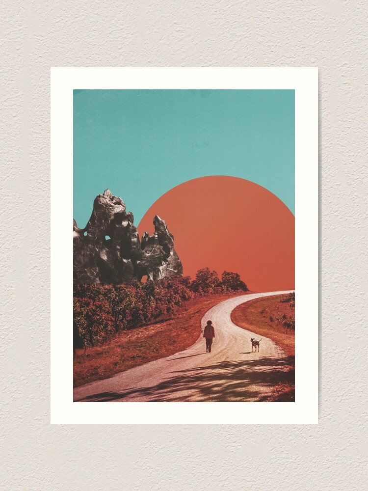 Alternate view of The Walk Art Print