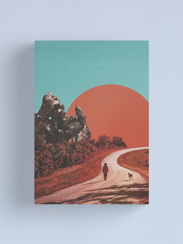 Alternate view of The Walk Canvas Print