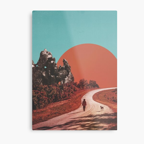 The Walk Metal Print