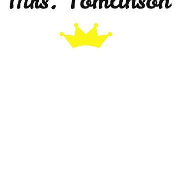 Mrs. Tomlinson by alyg1d