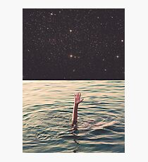 Drowned in space Photographic Print