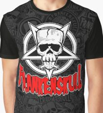 FrankenSkull -New Hellion Logo-O-Rama Graphic T-Shirt
