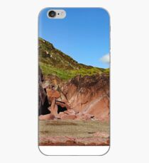 Shattered Rock Panorama - Freshwater West iPhone Case