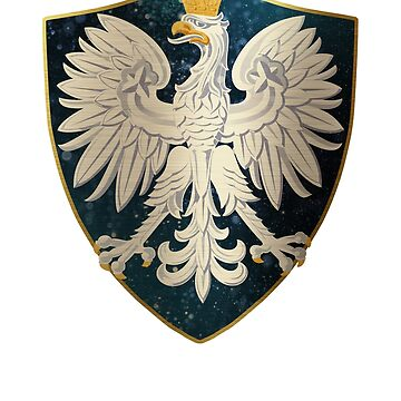Poland Coat of Arms Shield by ockshirts
