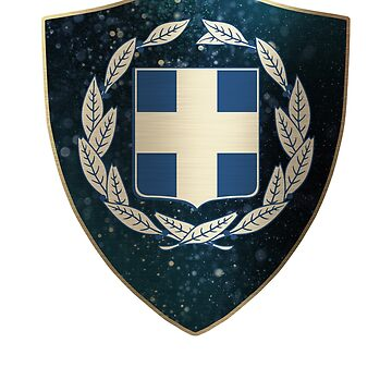Greece Coat of Arms by ockshirts