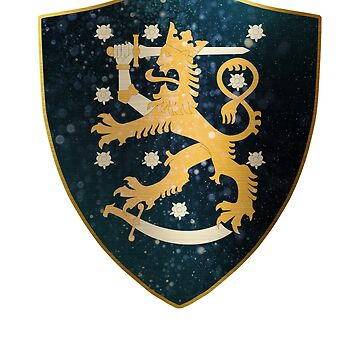 Finland Coat of Arms by ockshirts