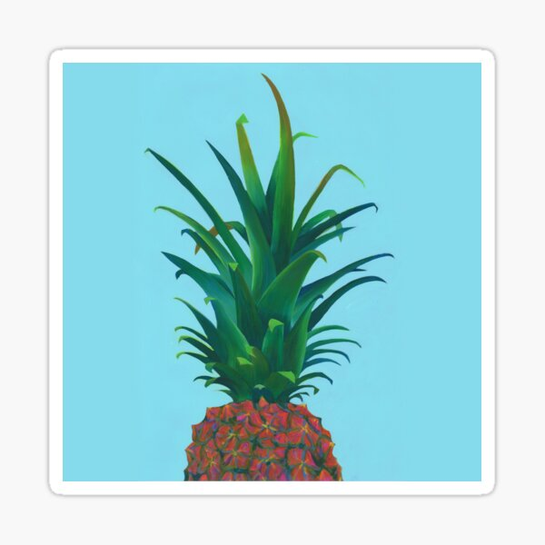 Spiky Pineapple Sticker