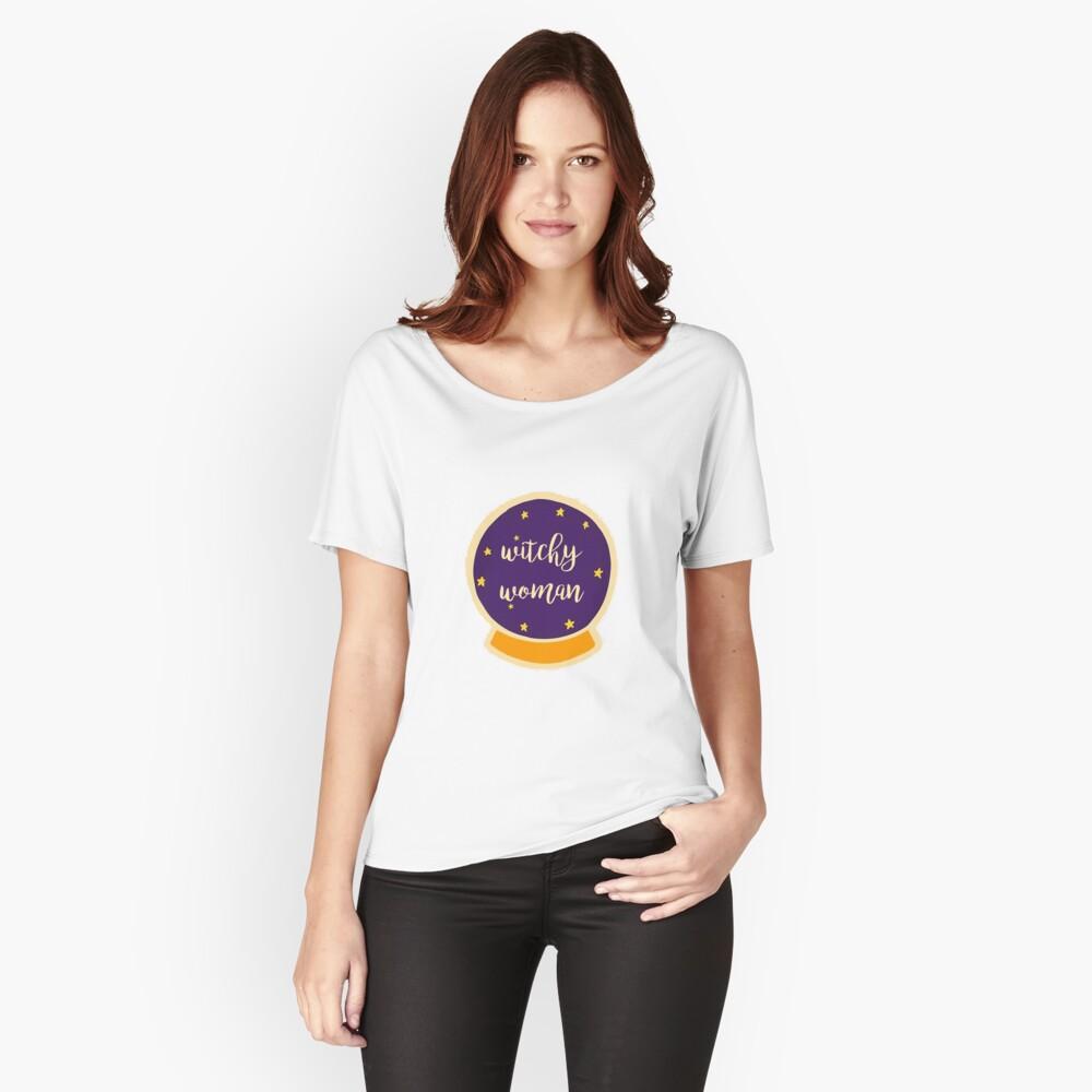 mujer bruja Camiseta ancha