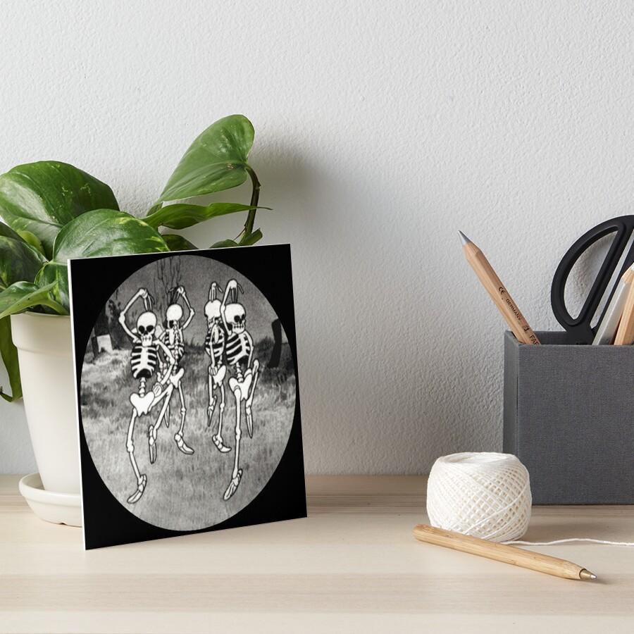 Dance like it's Halloween! Art Board Print