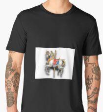 Carousel Horse  Men's Premium T-Shirt