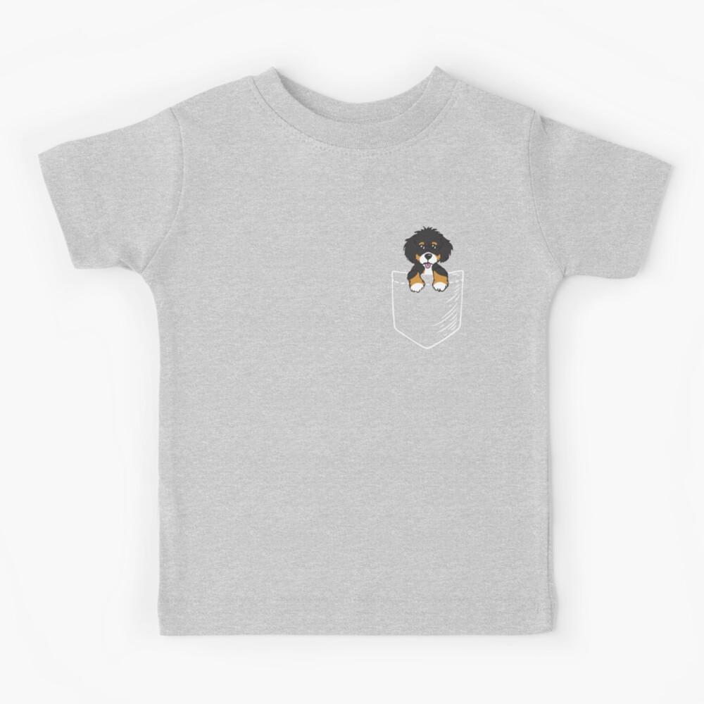 Bernedoodle Pocket Kids T-Shirt