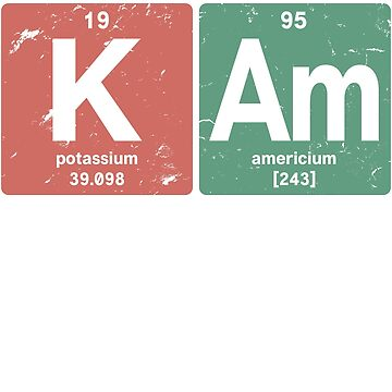 K Am - Chemical elements 1995 23rd birthday by hsco