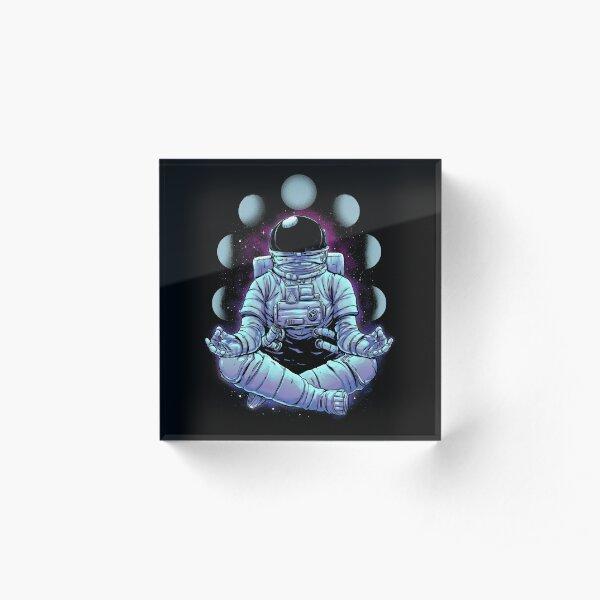 Meditation Acrylic Block