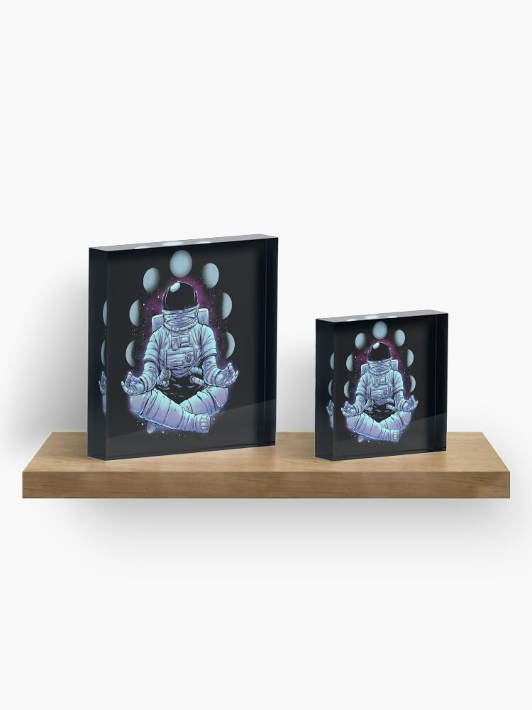 Alternate view of Meditation Acrylic Block