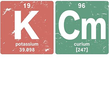 K Cm - Chemical elements 1996 22nd birthday by hsco
