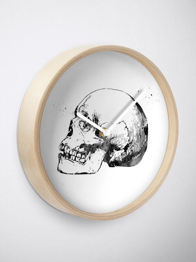 Alternate view of Skull Anatomy Clock