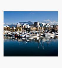 Hobart harbour Photographic Print