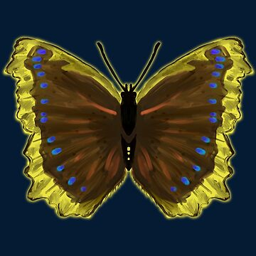 Girl Power Inspirational Butterfly - Mourning Cloak by simplyhomelife