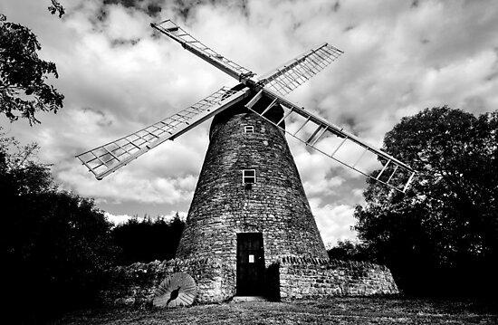 Bradwell Windmill by George Parapadakis (monocotylidono)