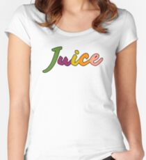 """Chance The Rapper's """"Juice"""" Women's Fitted Scoop T-Shirt"""