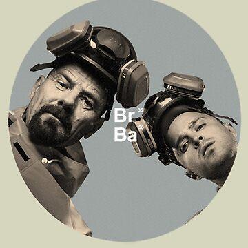 Breaking Bad Walt and Jesse BrBa by nekhebit