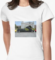Lambo Limo Women's Fitted T-Shirt