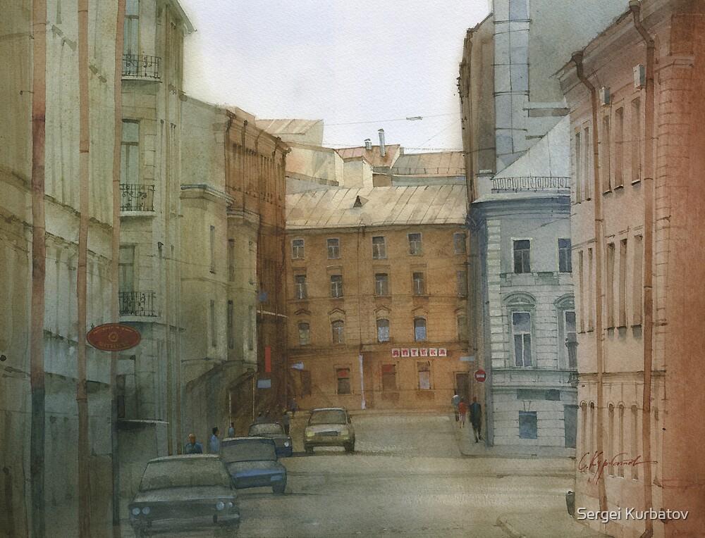 St. Petersburg' street by Sergei Kurbatov