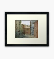 St. Petersburg' street Framed Print
