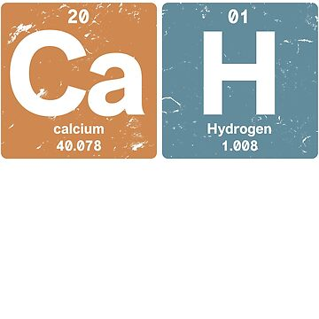 Ca H - Chemical elements 2001 17th birthday by hsco