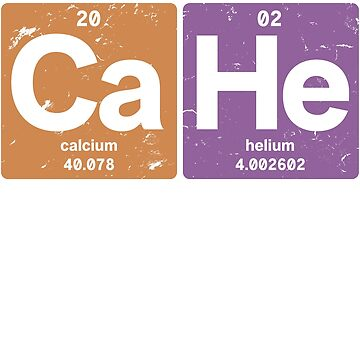 Ca He - Chemical elements 2002 16th birthday by hsco