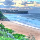 Head To Head - Mona Vale & Warriewood Beaches = The HDR Experience by Philip Johnson