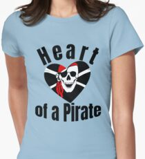 Heart of a Pirate Women's Fitted T-Shirt