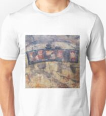 Gondwana encaustic stitched T-Shirt